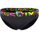 Funkita Sports Brief Bikini Damer sort/farverig